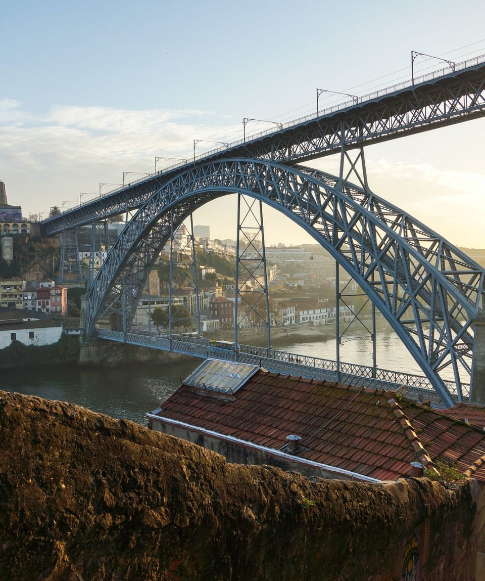 Porto City in Portugal